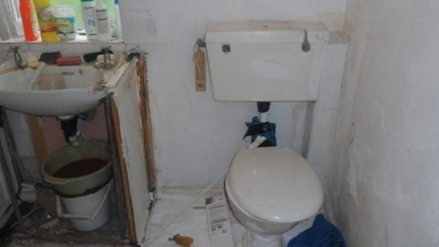 Bathroom - before renovation