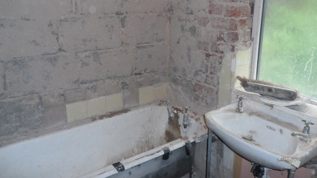 Bathroom - during renovation